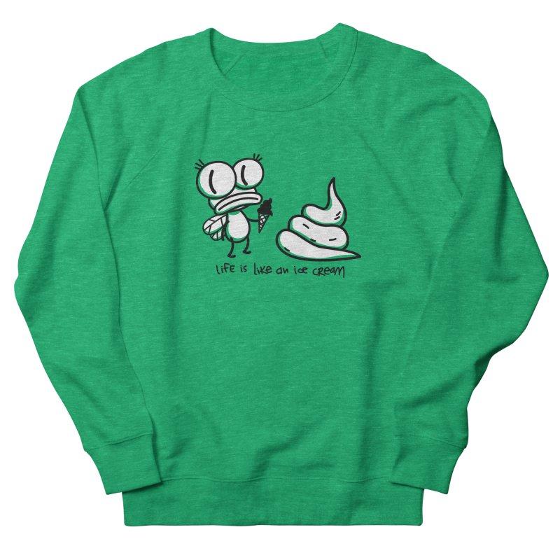 Fly Women's Sweatshirt by monoestudio's Artist Shop