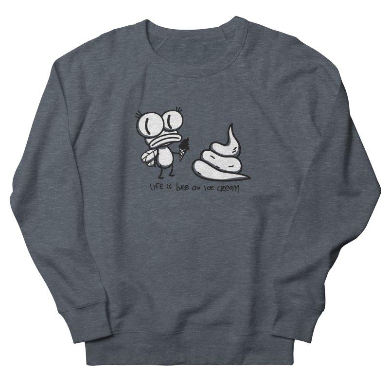 Fly Women's French Terry Sweatshirt by monoestudio's Artist Shop