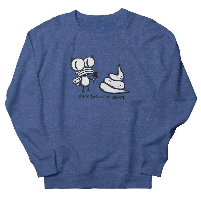 Fly Men's French Terry Sweatshirt by monoestudio's Artist Shop