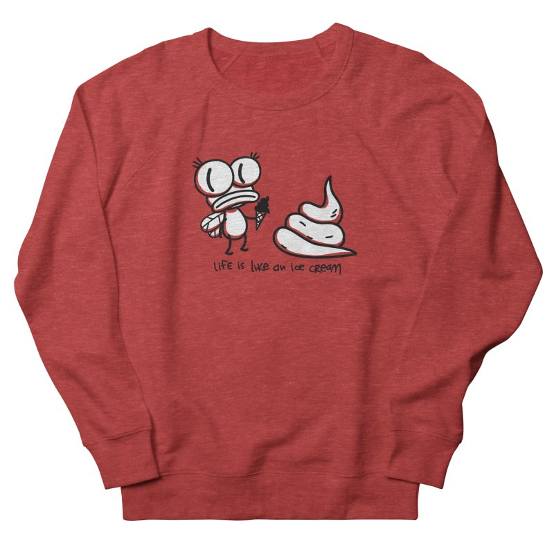 Fly Men's French Terry Sweatshirt by monoestudio's Artist Shop