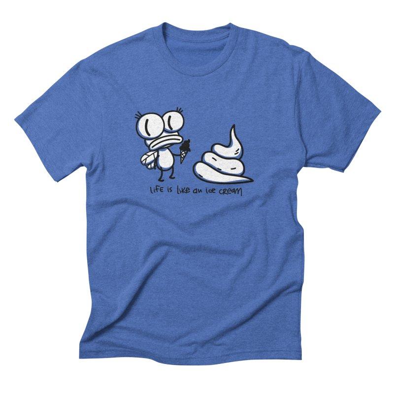 Fly Men's Triblend T-Shirt by monoestudio's Artist Shop