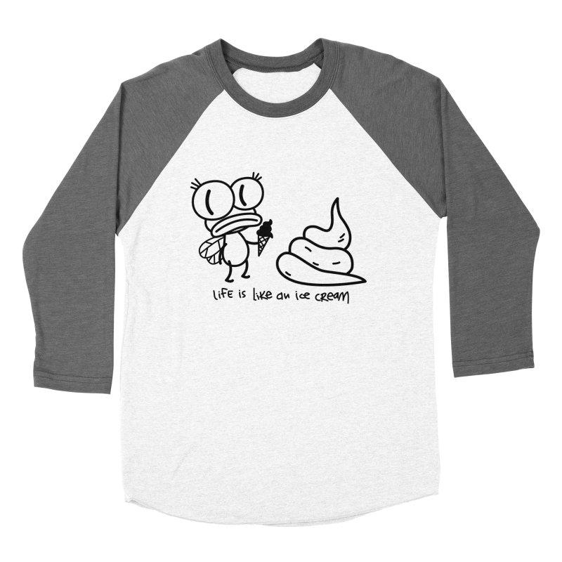 Fly Women's Baseball Triblend Longsleeve T-Shirt by monoestudio's Artist Shop