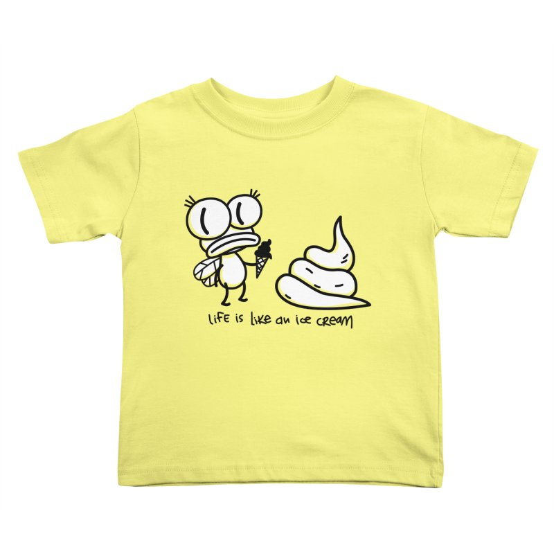 Fly Kids Toddler T-Shirt by monoestudio's Artist Shop