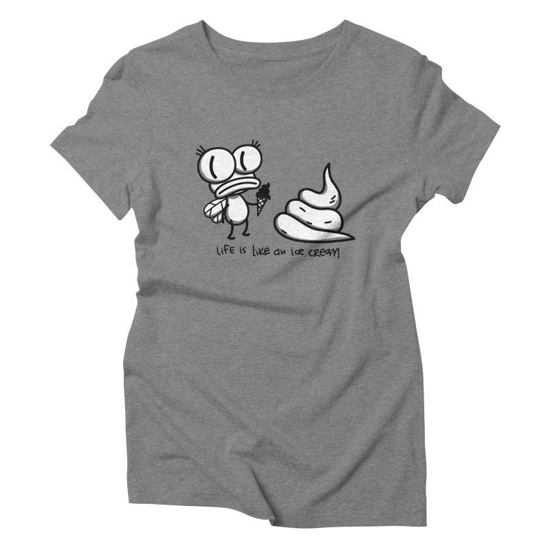 Fly Women's T-Shirt by monoestudio's Artist Shop