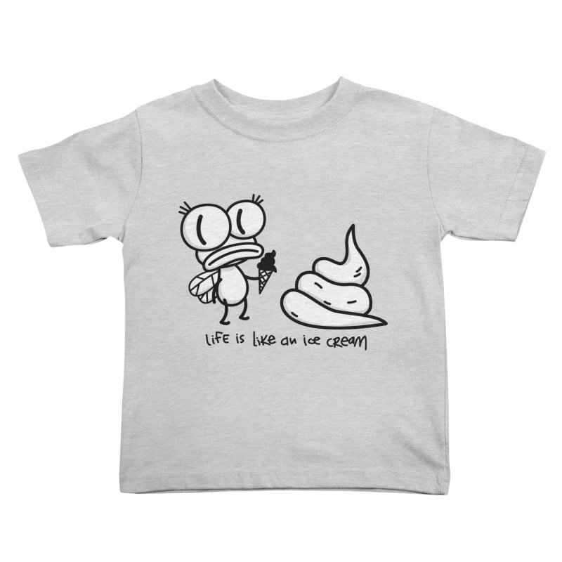 Fly Kids Toddler T-Shirt by monoestudio's Artist Shop
