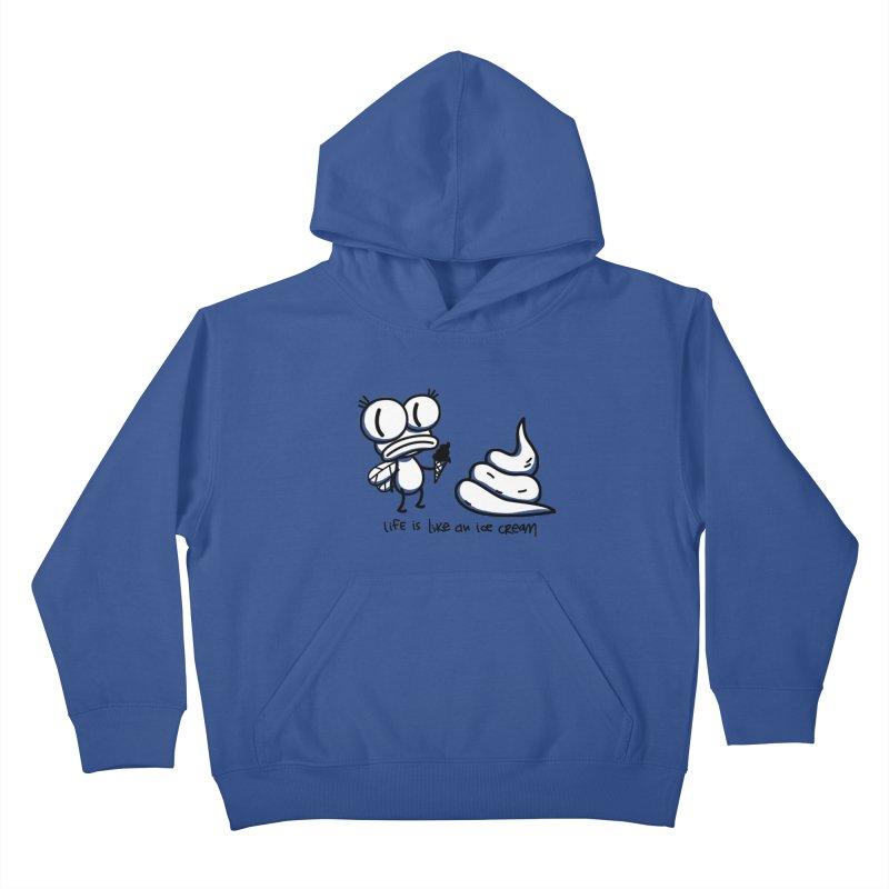 Fly Kids Pullover Hoody by monoestudio's Artist Shop