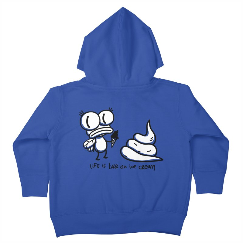 Fly Kids Toddler Zip-Up Hoody by monoestudio's Artist Shop