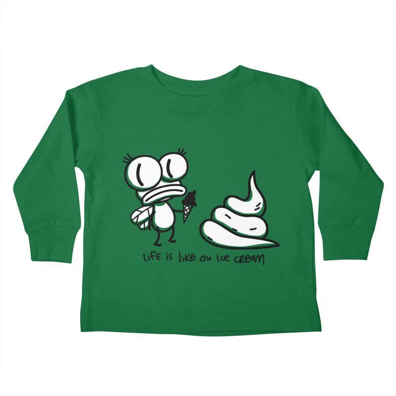 Fly Kids Toddler Longsleeve T-Shirt by monoestudio's Artist Shop