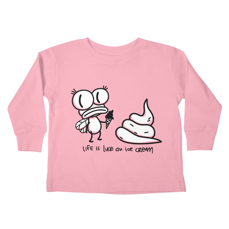 Fly Kids Toddler Longsleeve T-Shirt by monoestudio's Artist Shop