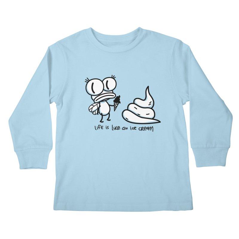 Fly Kids Longsleeve T-Shirt by monoestudio's Artist Shop
