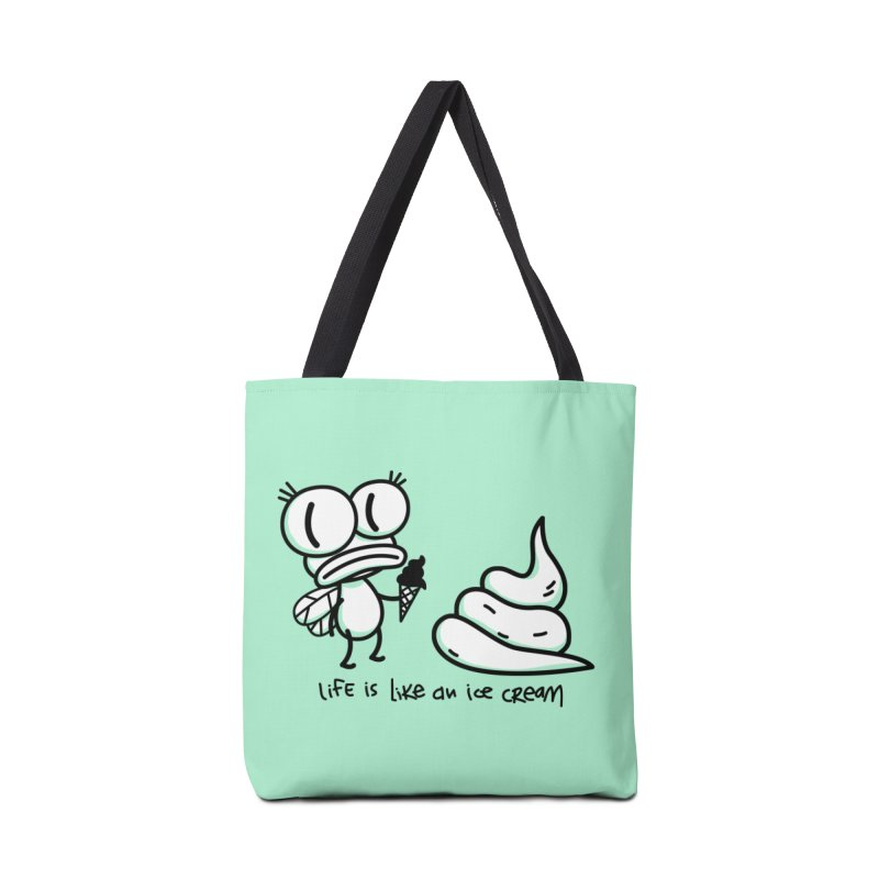 Fly Accessories Tote Bag Bag by monoestudio's Artist Shop