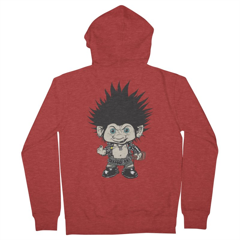 Troll Men's Zip-Up Hoody by monoestudio's Artist Shop