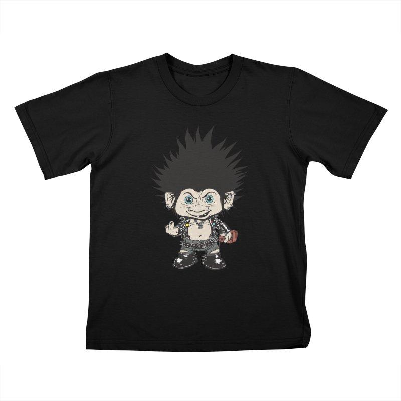 Troll Kids T-shirt by monoestudio's Artist Shop