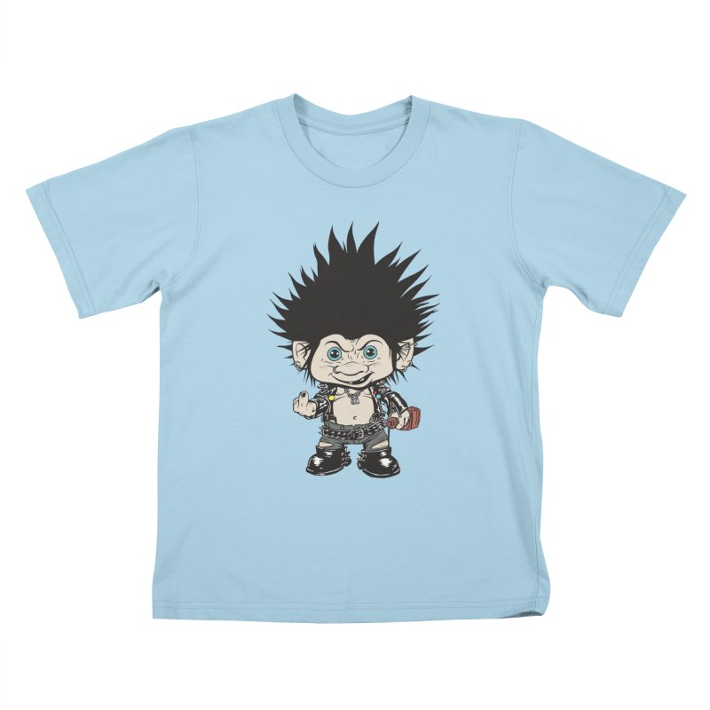 Troll Kids T-Shirt by monoestudio's Artist Shop