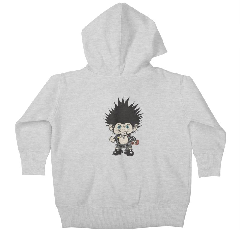Troll Kids Baby Zip-Up Hoody by monoestudio's Artist Shop