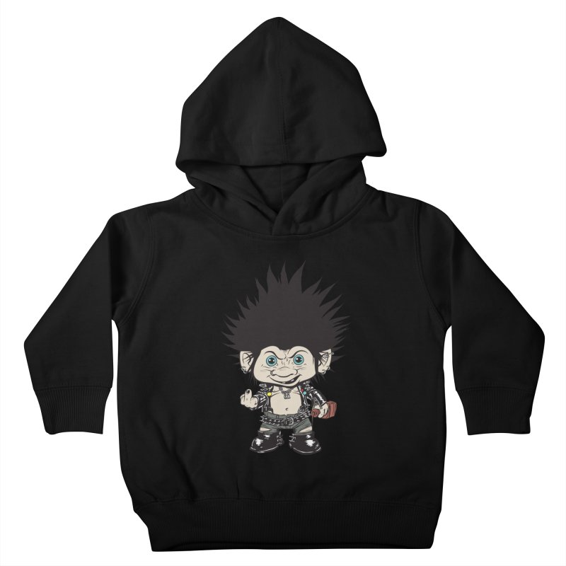 Troll Kids Toddler Pullover Hoody by monoestudio's Artist Shop