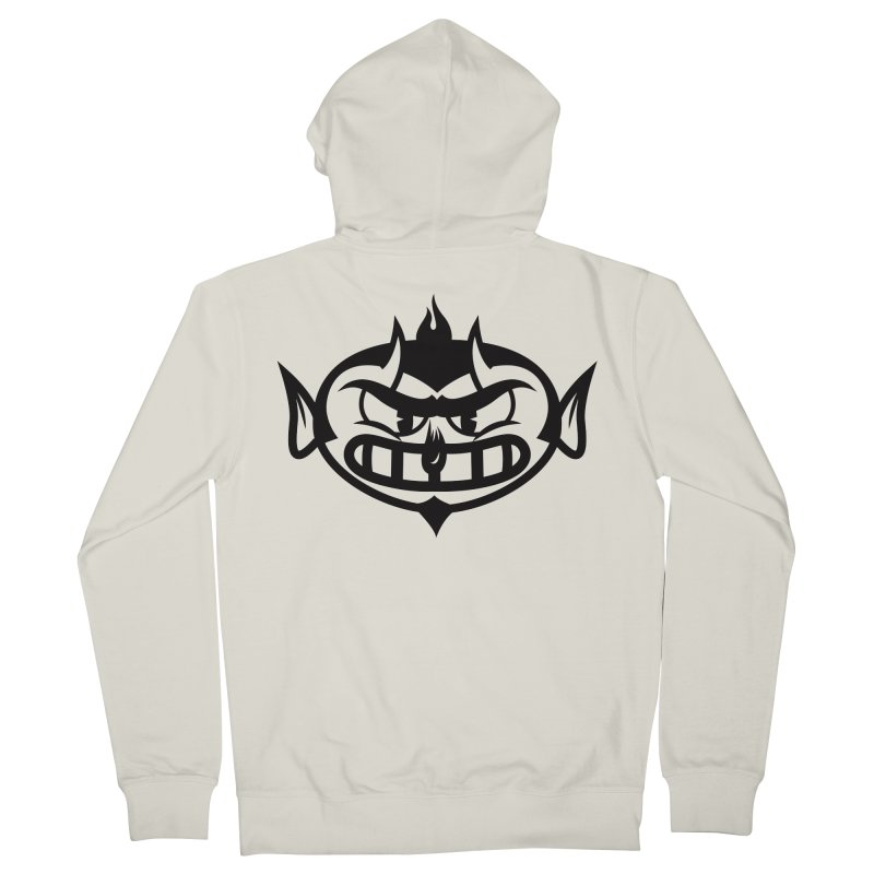 Diablo Men's Zip-Up Hoody by monoestudio's Artist Shop