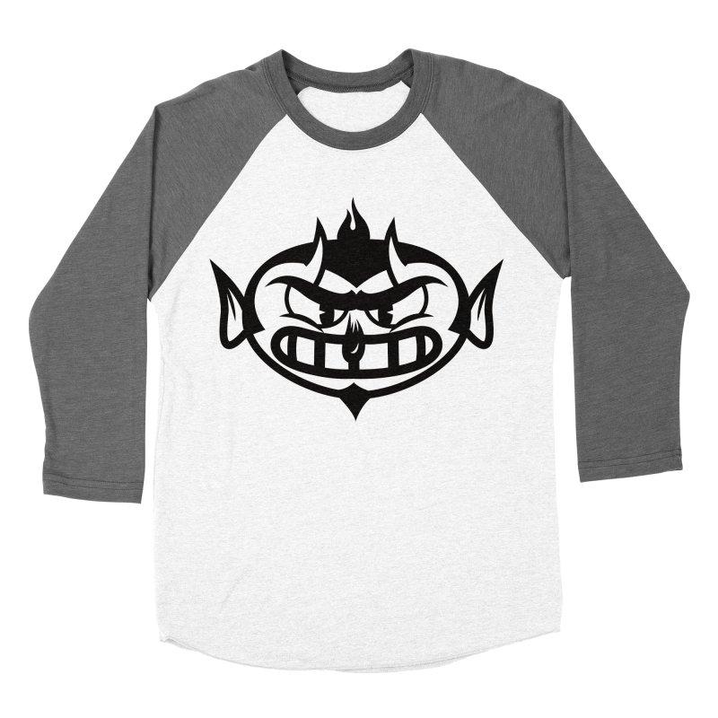 Diablo Men's Baseball Triblend T-Shirt by monoestudio's Artist Shop