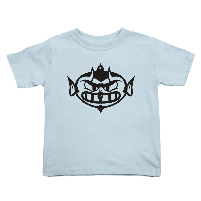 Diablo Kids Toddler T-Shirt by monoestudio's Artist Shop