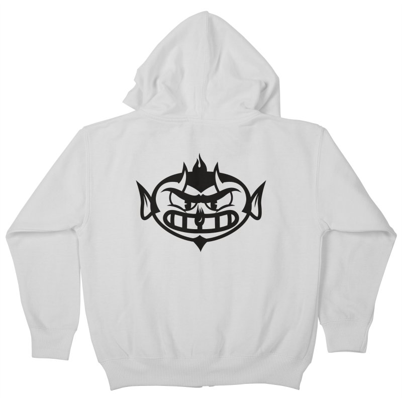 Diablo Kids Zip-Up Hoody by monoestudio's Artist Shop
