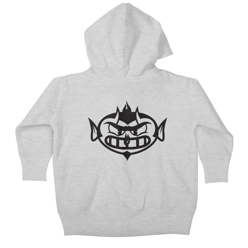 Diablo Kids Baby Zip-Up Hoody by monoestudio's Artist Shop