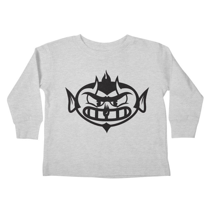 Diablo Kids Toddler Longsleeve T-Shirt by monoestudio's Artist Shop