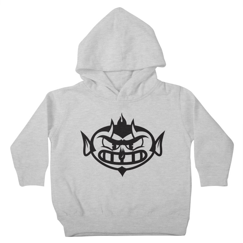 Diablo Kids Toddler Pullover Hoody by monoestudio's Artist Shop
