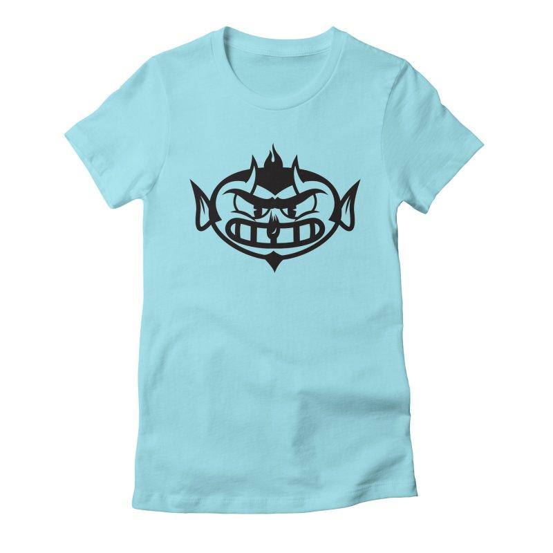 Diablo Women's Fitted T-Shirt by monoestudio's Artist Shop