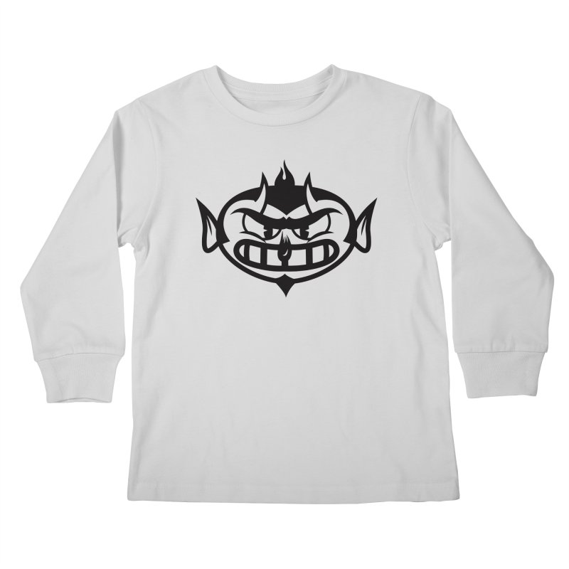 Diablo Kids Longsleeve T-Shirt by monoestudio's Artist Shop