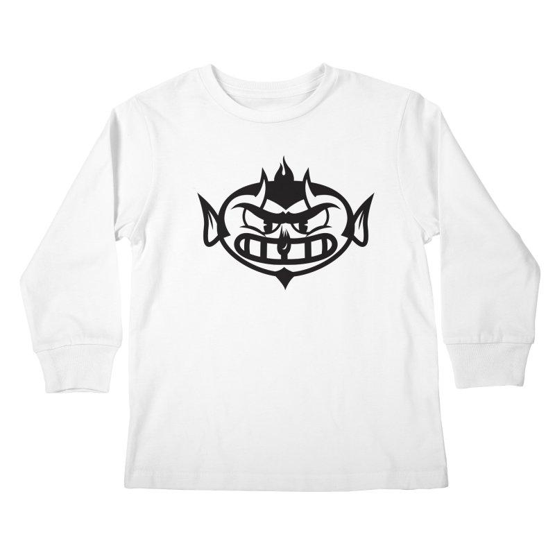 Diablo Kids Longsleeve T-Shirt by monoestudio's Artist Shop