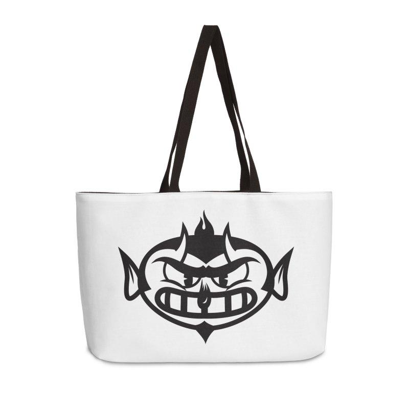 Diablo Accessories Weekender Bag Bag by monoestudio's Artist Shop