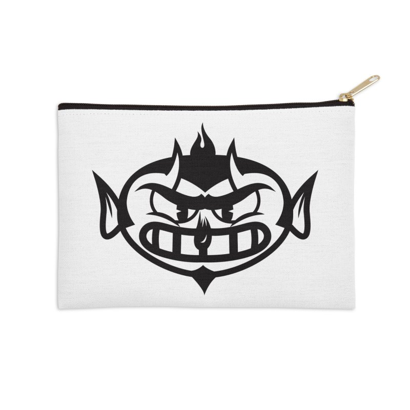 Diablo Accessories Zip Pouch by monoestudio's Artist Shop