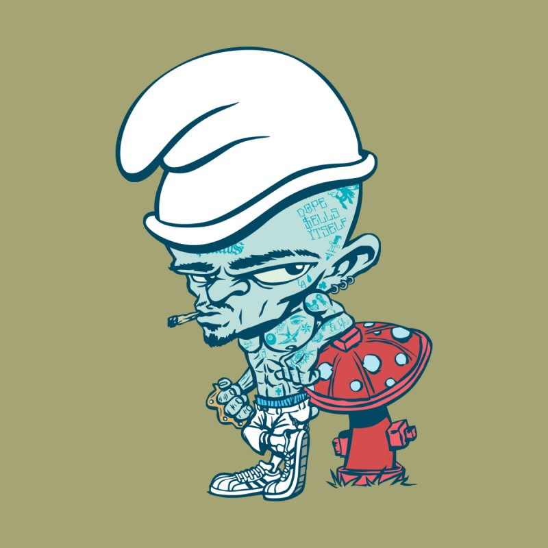 Smurf Men's T-Shirt by monoestudio's Artist Shop