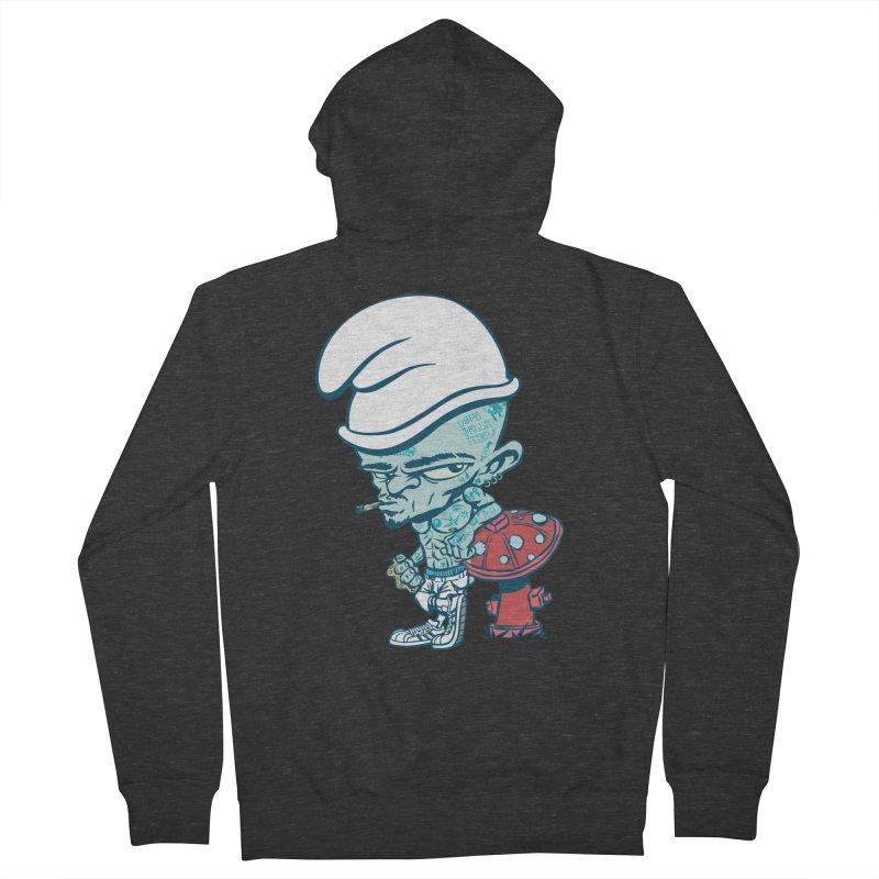 Smurf Men's Zip-Up Hoody by monoestudio's Artist Shop