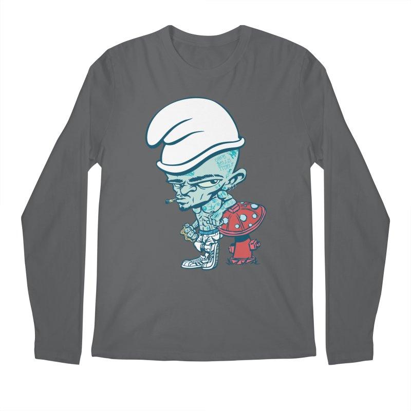 Smurf Men's Longsleeve T-Shirt by monoestudio's Artist Shop