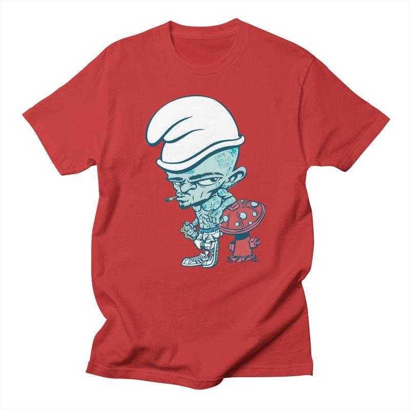 Smurf Men's Regular T-Shirt by monoestudio's Artist Shop