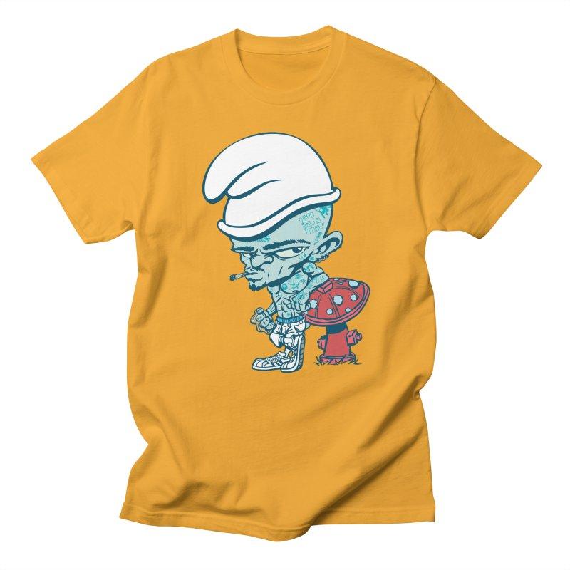 Smurf Men's T-Shirt by monoestudio's Artist Shop