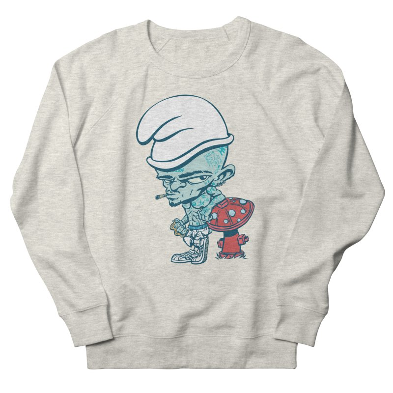 Smurf Women's Sweatshirt by monoestudio's Artist Shop