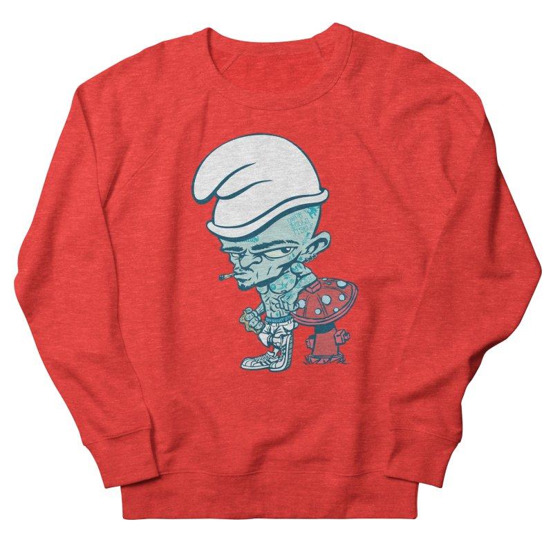 Smurf Men's Sweatshirt by monoestudio's Artist Shop