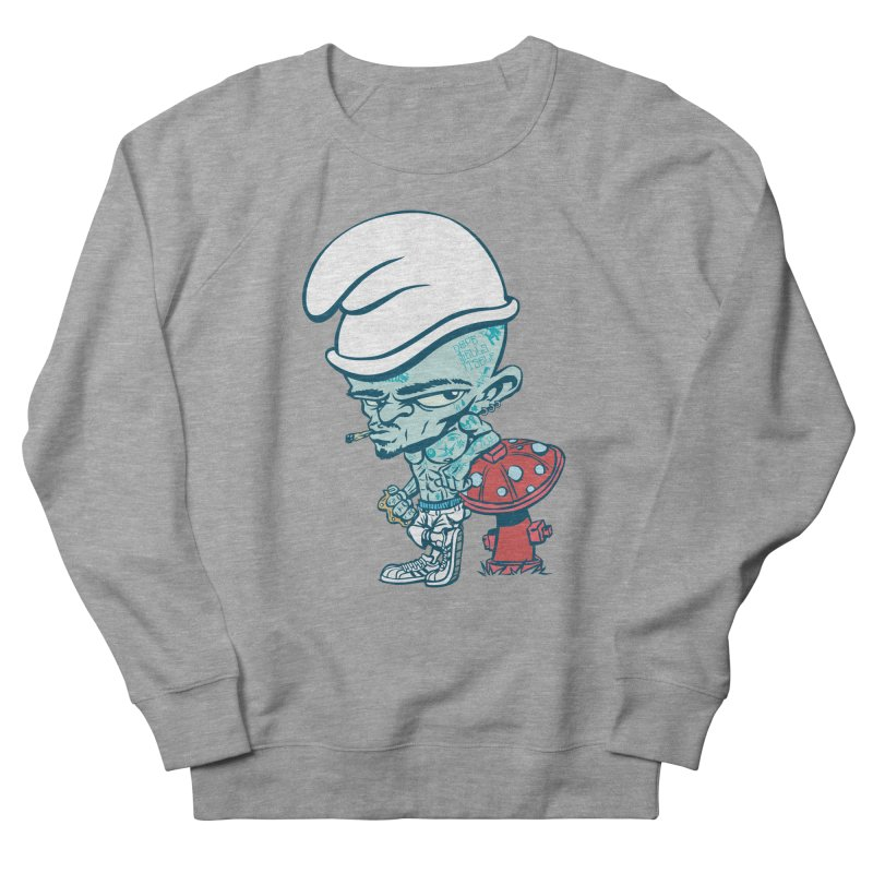 Smurf Men's Sweatshirt by monoestudio's Artist Shop