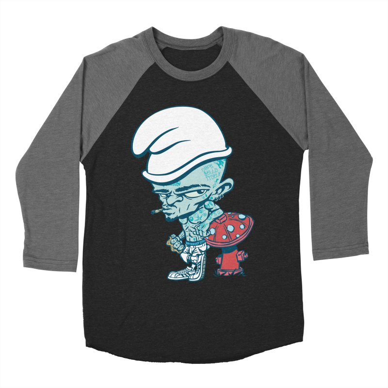 Smurf Men's Baseball Triblend T-Shirt by monoestudio's Artist Shop