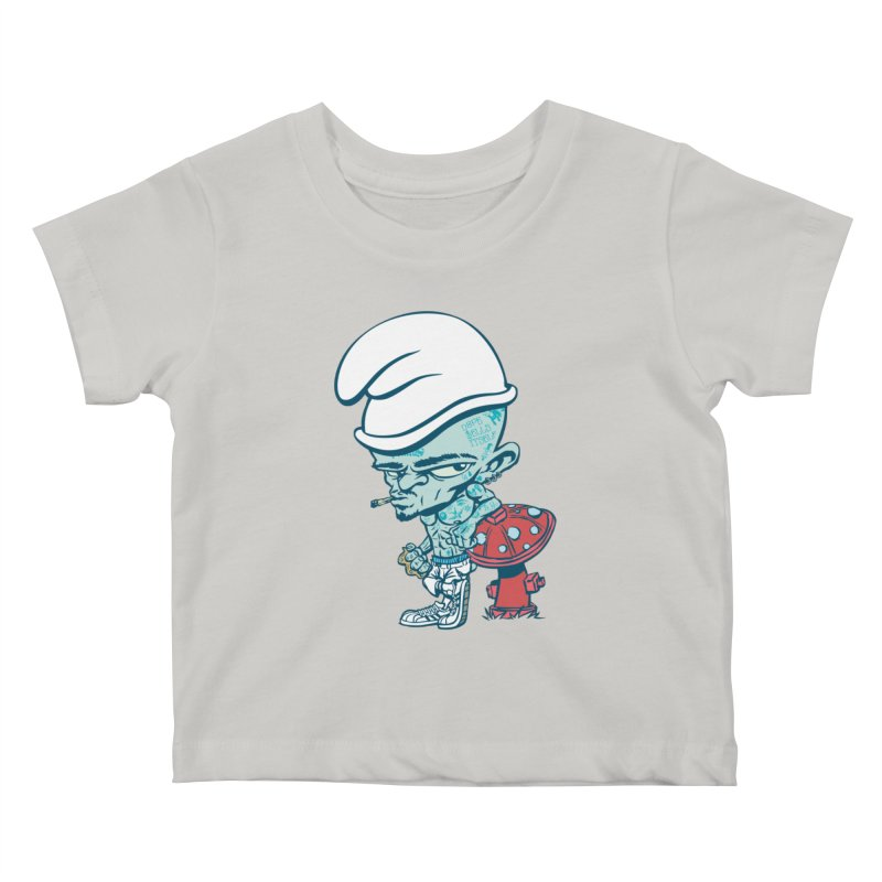 Smurf Kids Baby T-Shirt by monoestudio's Artist Shop