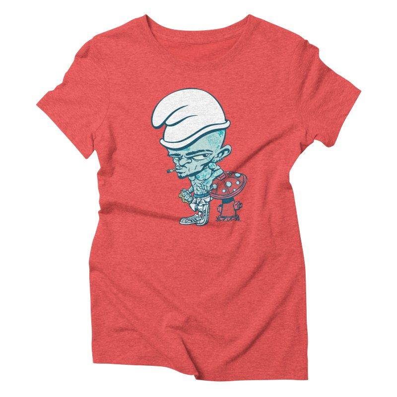 Smurf Women's T-Shirt by monoestudio's Artist Shop