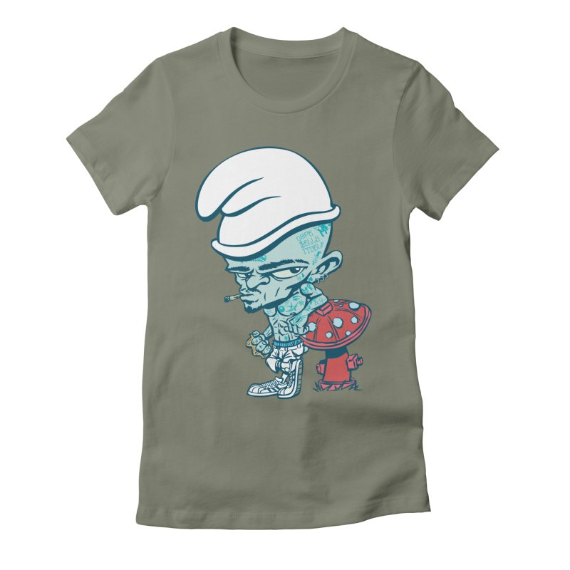 Smurf Women's T-Shirt by monoestudio's Artist Shop
