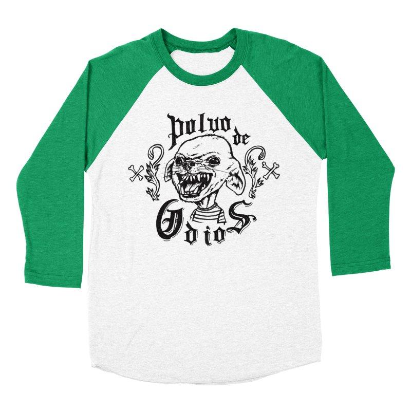Odio Women's Baseball Triblend Longsleeve T-Shirt by monoestudio's Artist Shop