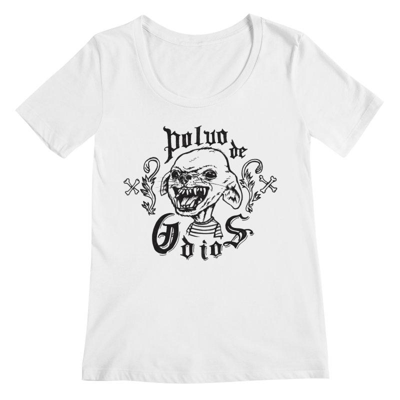 Odio Women's Regular Scoop Neck by monoestudio's Artist Shop