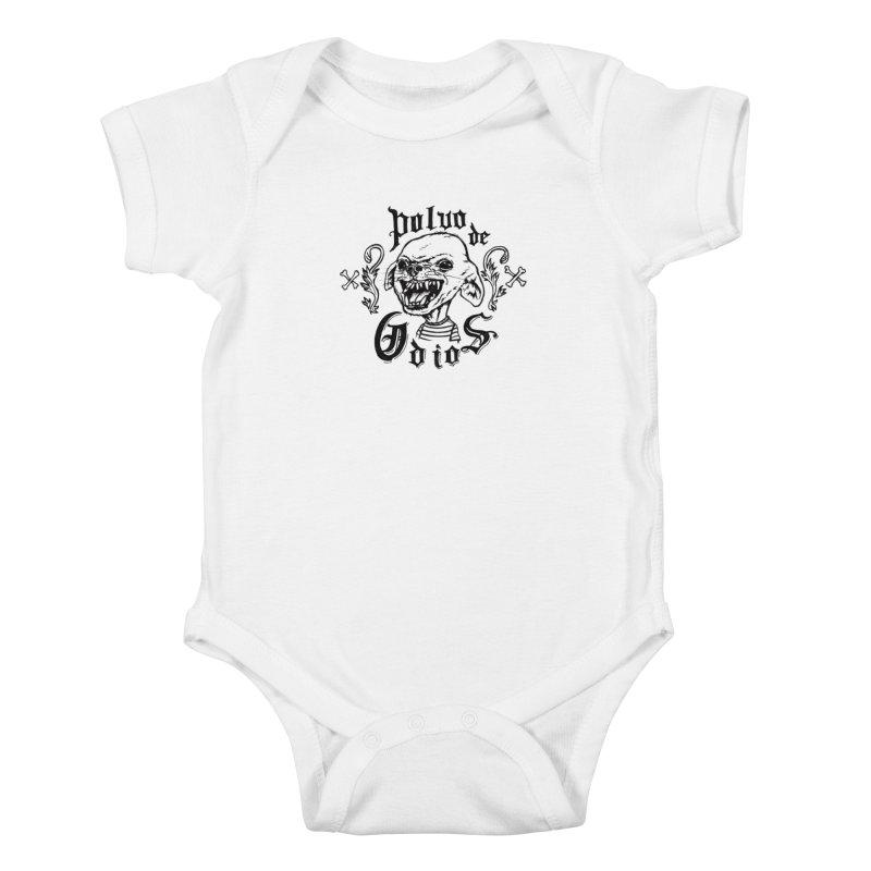 Odio Kids Baby Bodysuit by monoestudio's Artist Shop