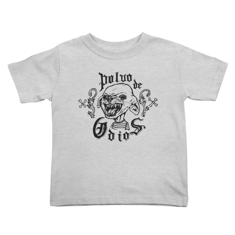 Odio Kids Toddler T-Shirt by monoestudio's Artist Shop