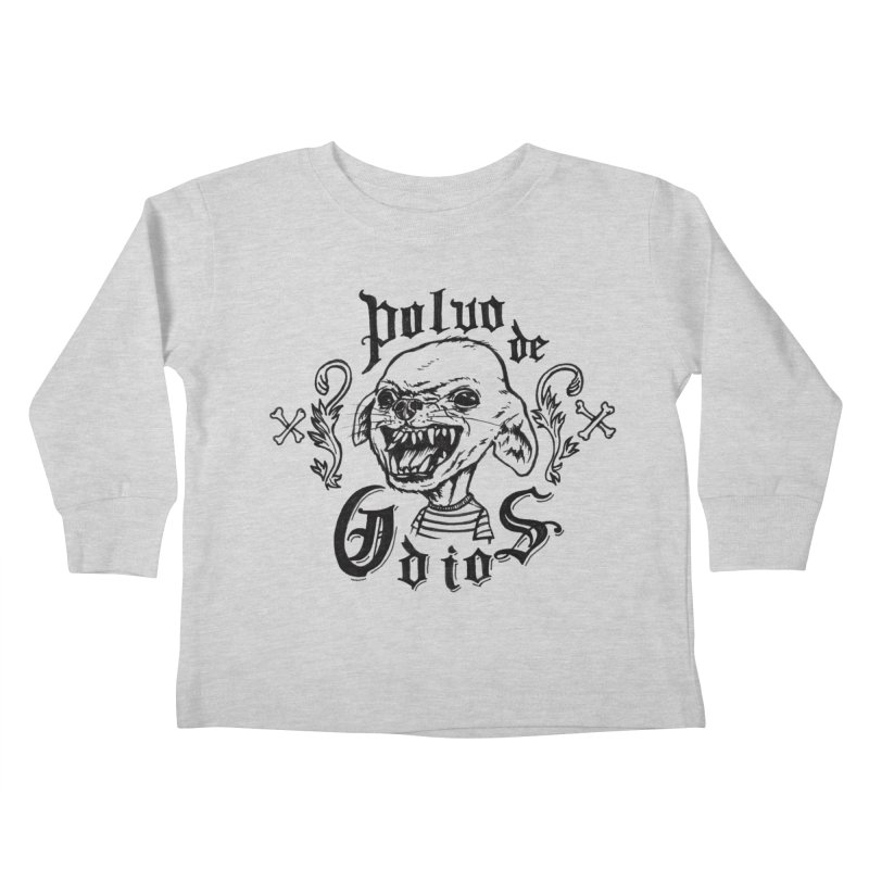 Odio Kids Toddler Longsleeve T-Shirt by monoestudio's Artist Shop