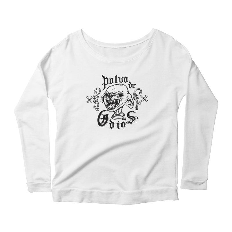 Odio Women's Scoop Neck Longsleeve T-Shirt by monoestudio's Artist Shop